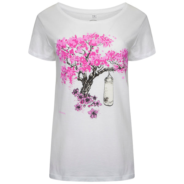 'Blossom Tree' Womens Martial Arts T Shirt