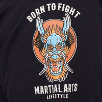 'Born to Fight' Martial Arts T Shirt