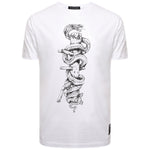 'Snake & Dummy' Martial Arts T Shirt