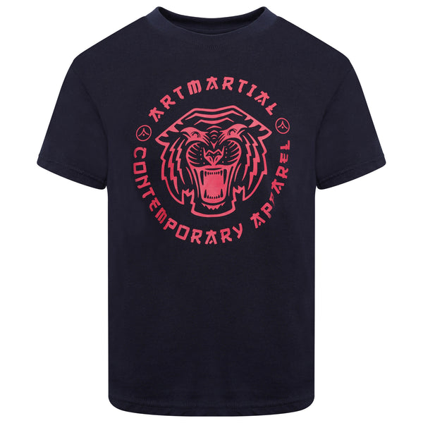 'Tiger Collegiate' Junior Martial Arts T Shirt