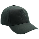 5 Panel Baseball Cap - Black on Black (£9 with any other item)