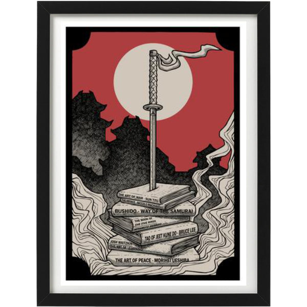 'Knowledge is Power' Art Print