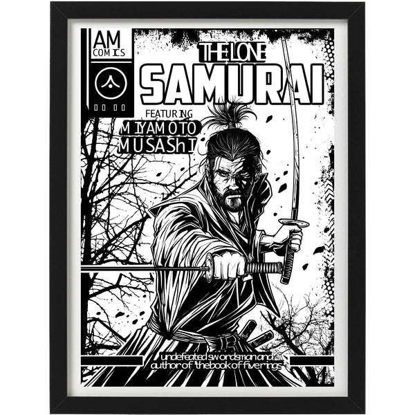 'The Lone Samurai' Art Print
