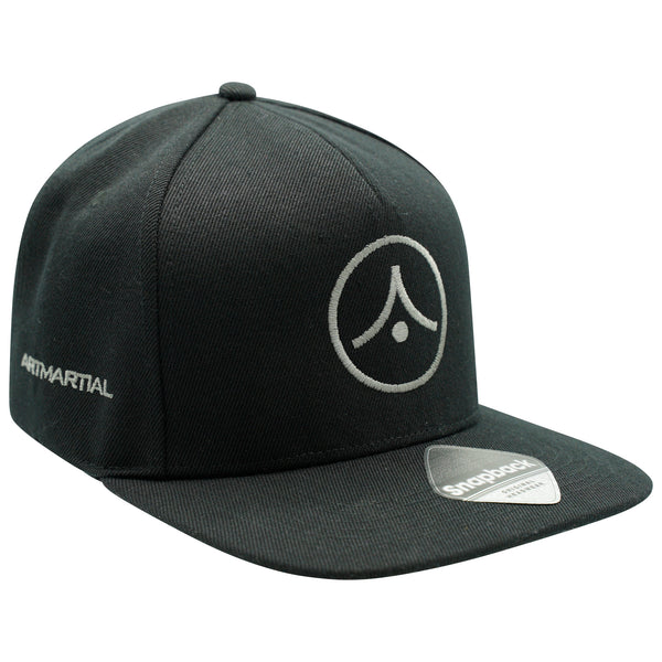Original Flat Peak Snapback - Graphite on Black