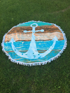 Anchor - Roundie Towel