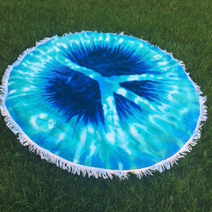 Blue Hippy - Roundie Towel