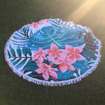 Tropical Breeze - Roundie Towel