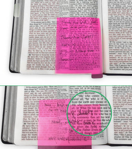 Reusable Sticky Notes won't tear your pages