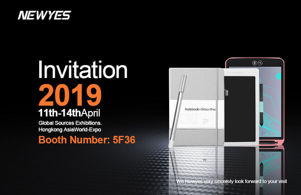 newyes attends HK electronics fair on April