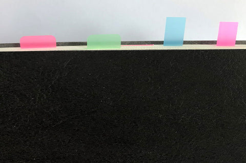 Reusable Sticky Notes for easy check