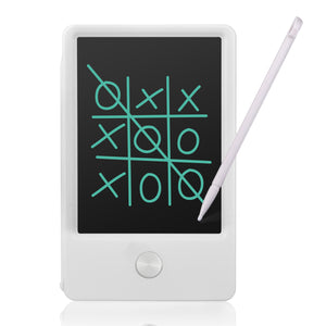 White - 4.5-inch Pocket Pad Mini LCD Writing Board