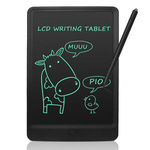 black 10 inch LCD Drawing Board with Lock Switch