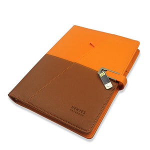 Smart Erasable Notebook with Powerbank And USB Flash Disk - newyes1