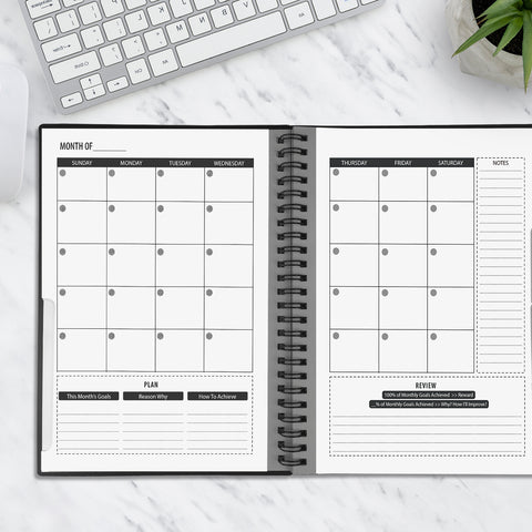 NEWYES Reusable Planner Weekly, Monthly, Yearly – newyes1