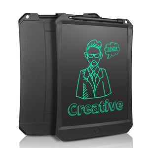 10.5 inches Black lcd message board eliminates the need for paper, scratch pads and sticky notes - simply write and erase