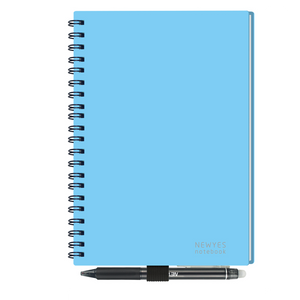 A5 Blue Reusable Smart Notebook