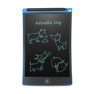 Great little LCD note tablet you can take anywhere, easy to read and use, can be stuck to fridge using magnets that come with it.