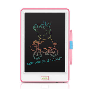 Pink NYWT100G 10 inch Lcd Writing Tablet - Rainbow Writing