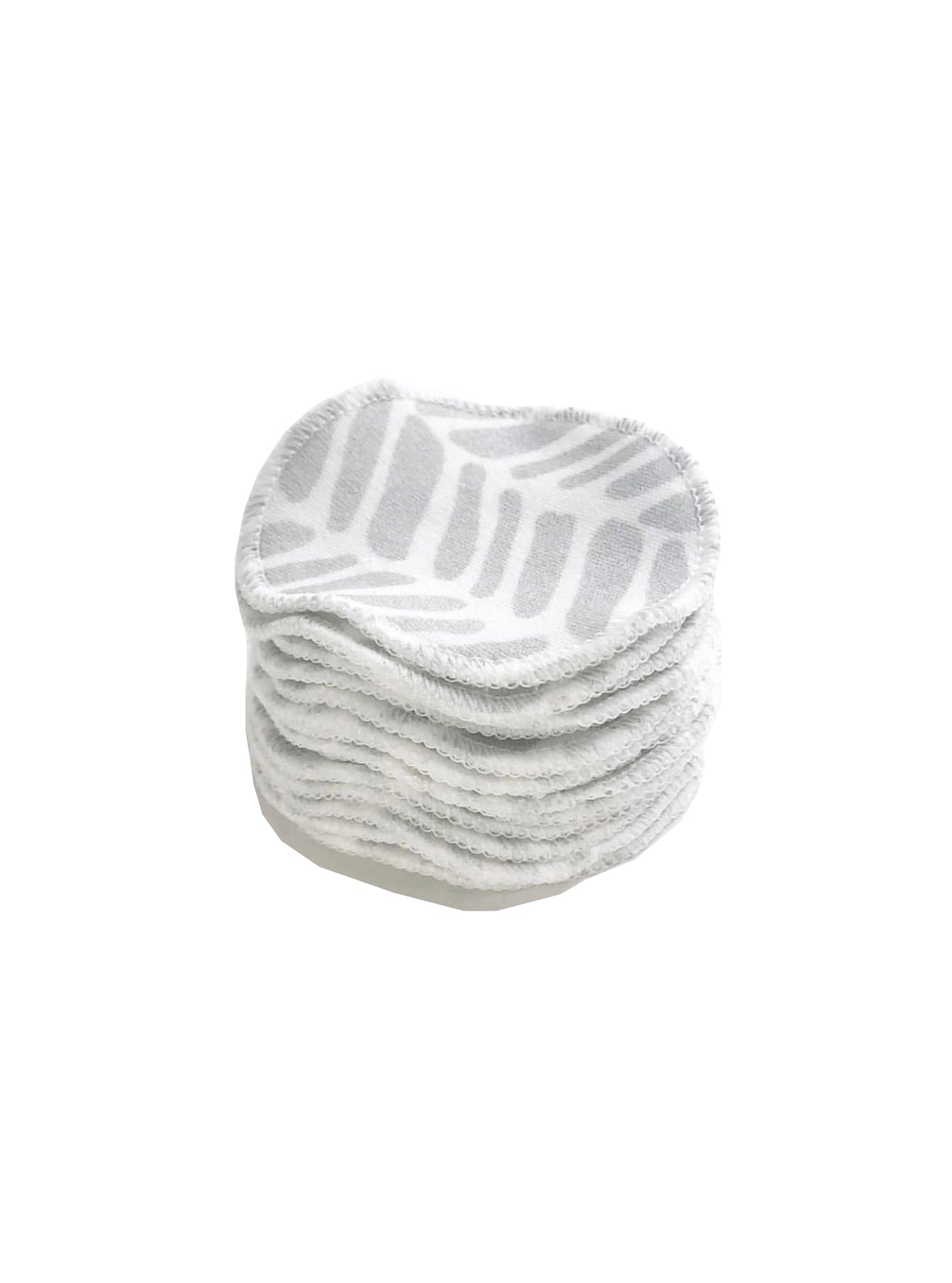 100% Organic Cotton Reusable Rounds - Grey