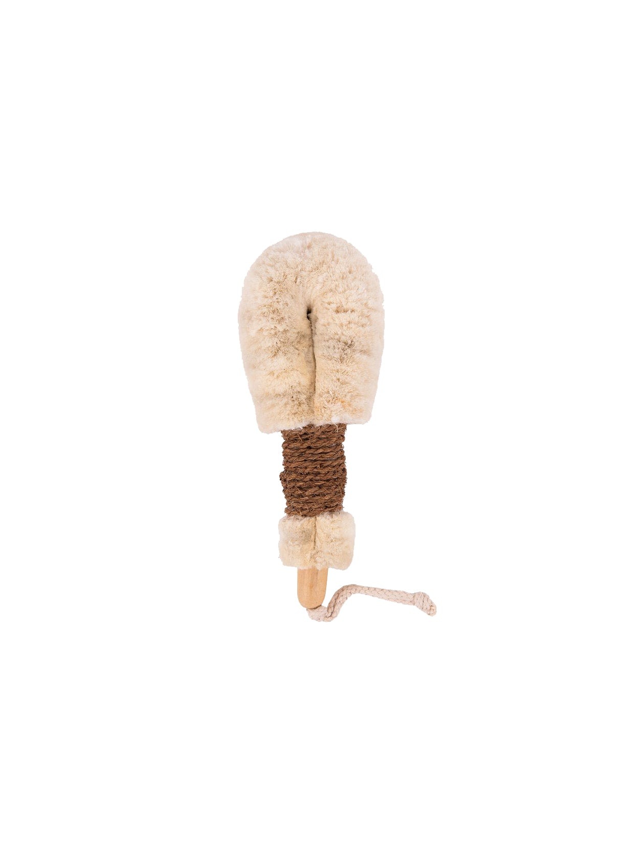 Jute Dry Body Brush (Brown)
