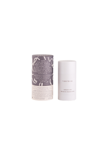 Peppermint & Activated Charcoal Natural Deodorant