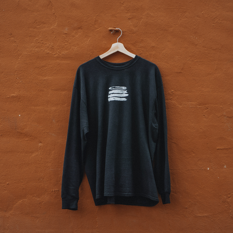 MA500 Classic Black Long Sleeve T