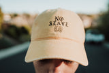 No Slave Co. Dad Hat - Distressed Yellow