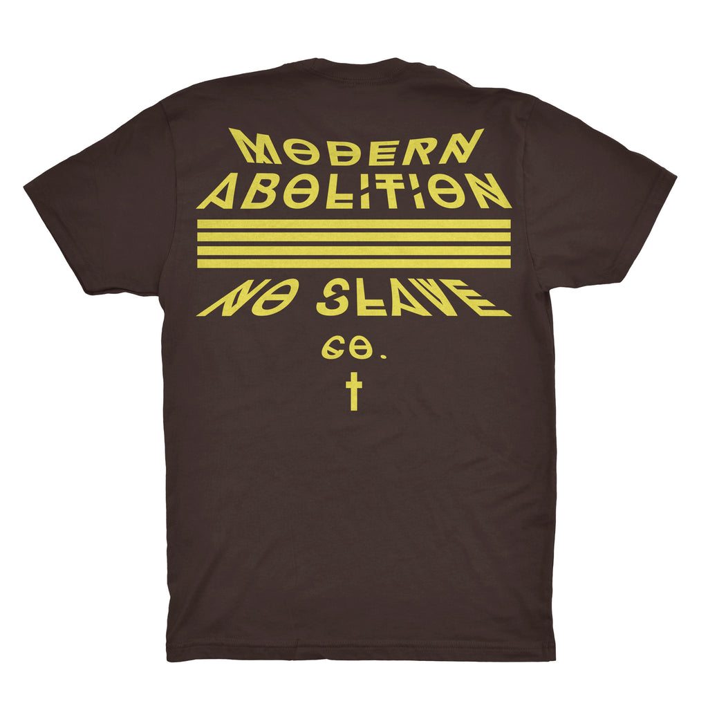Modern Ab Rock Show T | Dark Chocolate