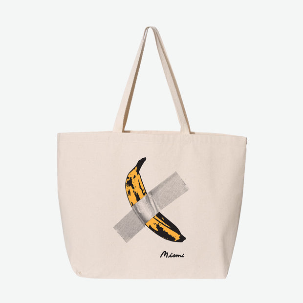 Miami Banana Tote Bag