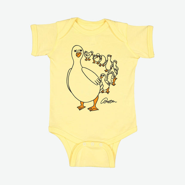 Boston Ducks Baby Onesie