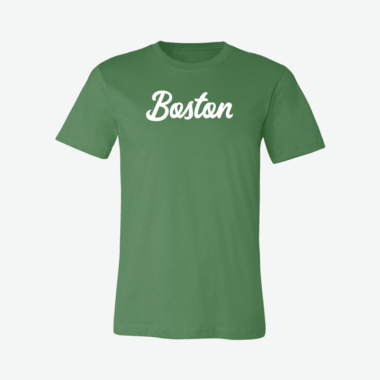 Boston Script T-Shirt