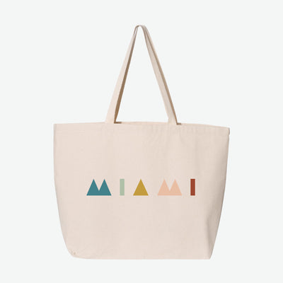 Miami Deco Tote Bag