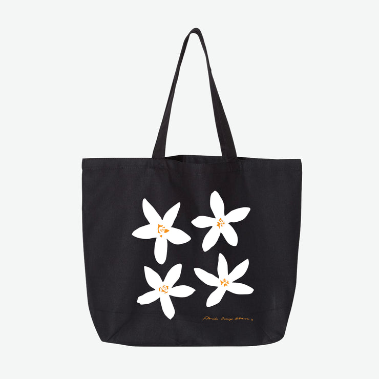 Florida Orange Blossom Tote Bag