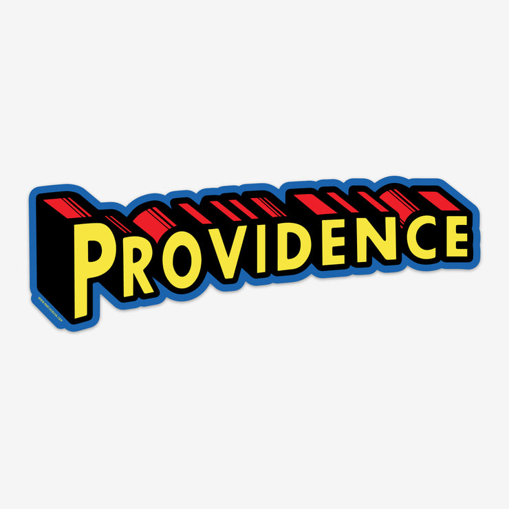 Providence Superman Sticker