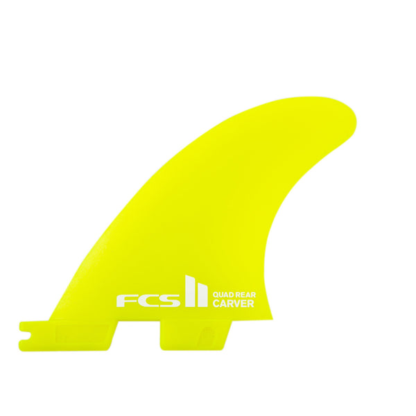 FCS II Carver Neo Glass Quad Rear Fins