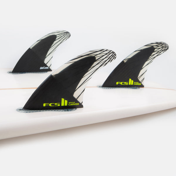 FCS II Carver PC Carbon Tri Fins