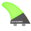FCS MR-TFX PC Carbon Twin + Stabiliser Fins