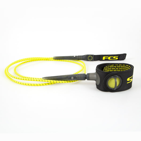 FCS Freedom Leash Yellow