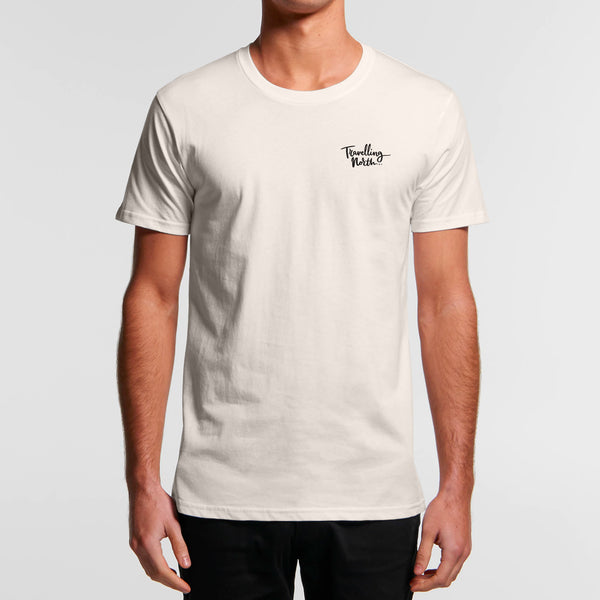 Single Fin Short Sleeve Organic Tee
