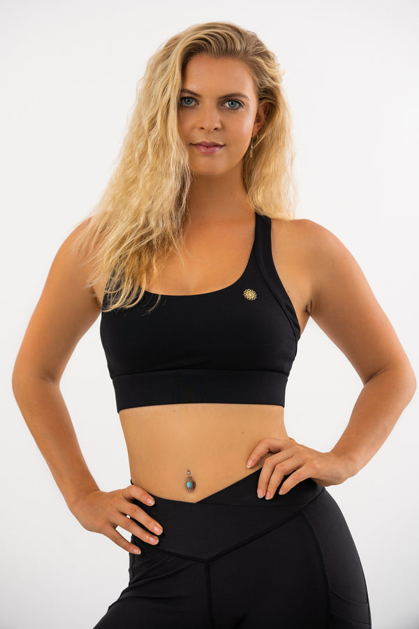 Black Hellebore Maximum Support Sports Bra