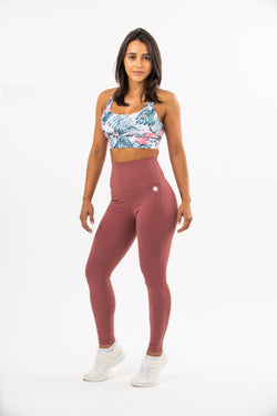 Plum High Waisted Leggings