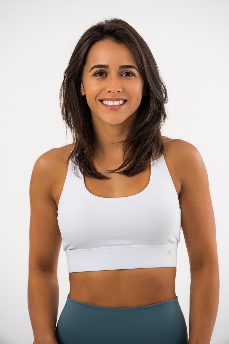 Clasp Back Daisy Sports Bra