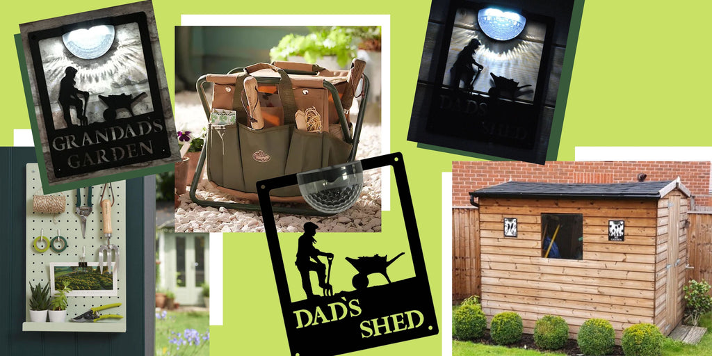 Gift Ideas for Dads/Father's who like spending time in the garden and/or shed. Garden tools and essential kit items.