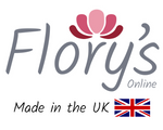 Flory's Online Logo - Made in the UK