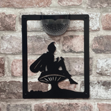 Fairy Solar Light Wall Plaque
