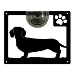 Dachshund Solar Light Wall Plaque