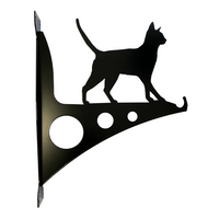 Large Cat Garden Hanging Basket Bracket - Flory's Online.