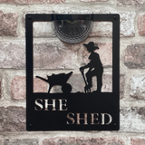 She Shed Solar Powered Light