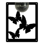 Butterfly Solar Light Wall Plaque