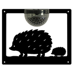Hedgehog Solar Powered Wall Plaque